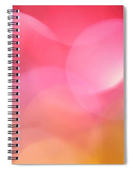 Pink Moon Spiral Notebook