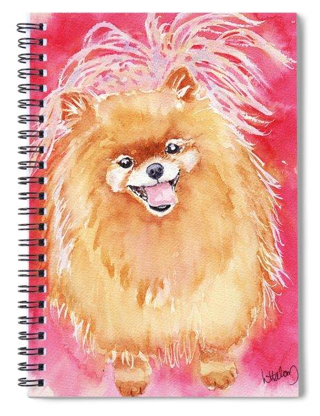 Pink Pom Spiral Notebook