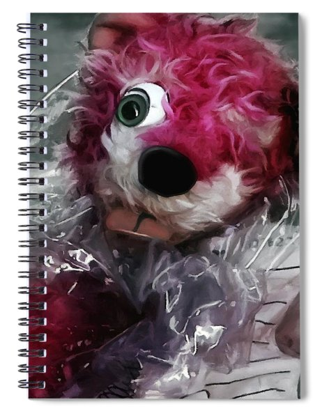 Pink Teddy Bear In Evidence Bag @ Tv Serie Breaking Bad Spiral Notebook