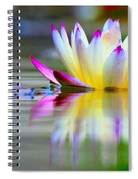 Pink Tips Emerge Spiral Notebook