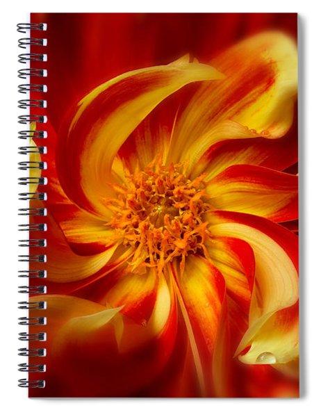 Pinwheel Spiral Notebook