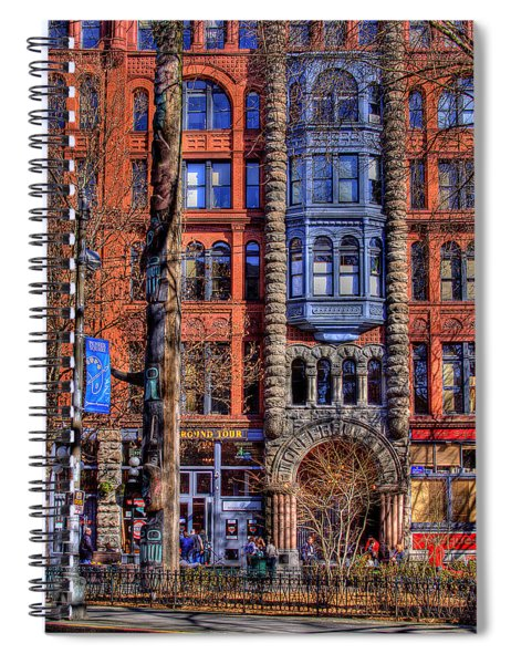 Pioneer Square No.1 Spiral Notebook