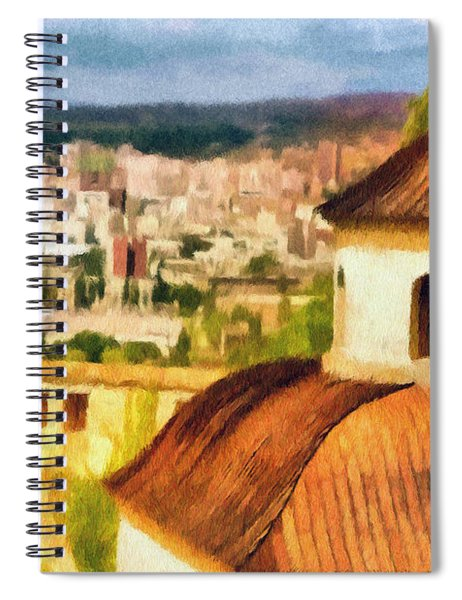 Pious Witness To The Passage Of Time Spiral Notebook