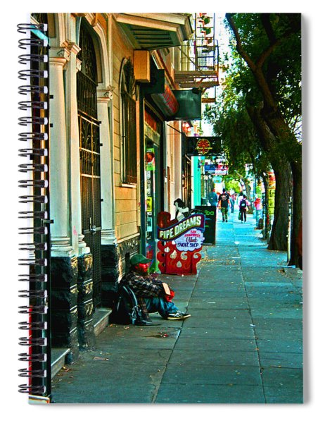 Pipe Dreams Spiral Notebook