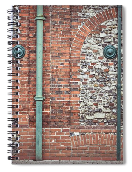 Pipes And Wall Spiral Notebook
