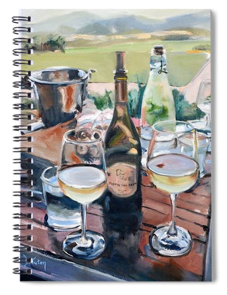 Pippin Hill Picnic Spiral Notebook