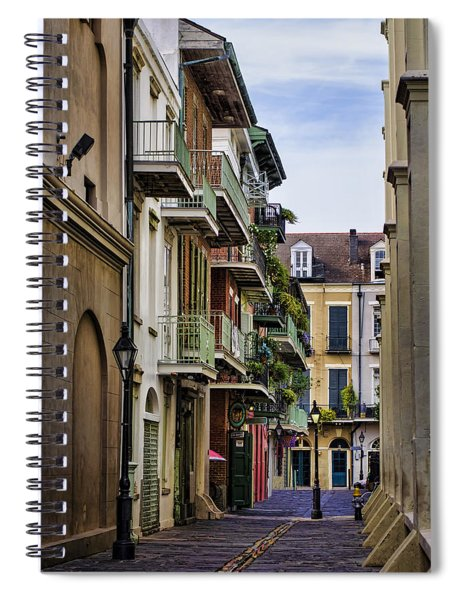 Pirates Alley Spiral Notebook