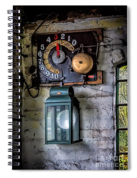 Pit Lift Control Spiral Notebook