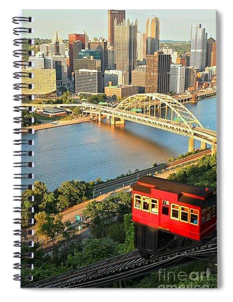 Pittsburgh Duquesne Incline Spiral Notebook
