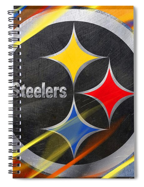 Pittsburgh Steelers Football Spiral Notebook