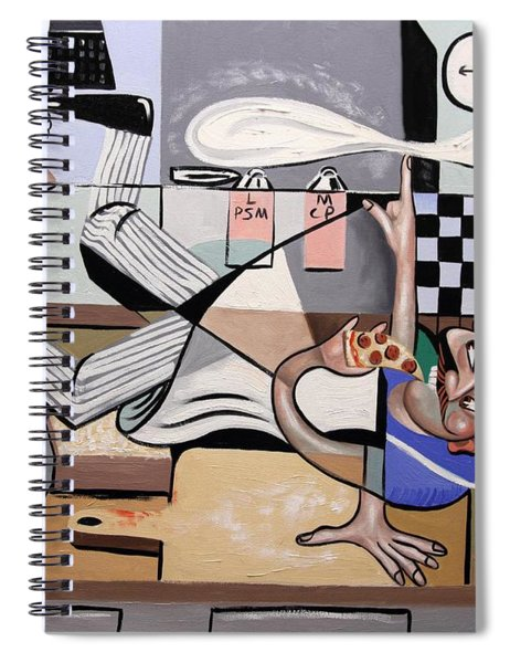 Pizza Break Spiral Notebook