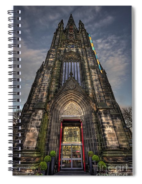 Place Of Higher Power Spiral Notebook