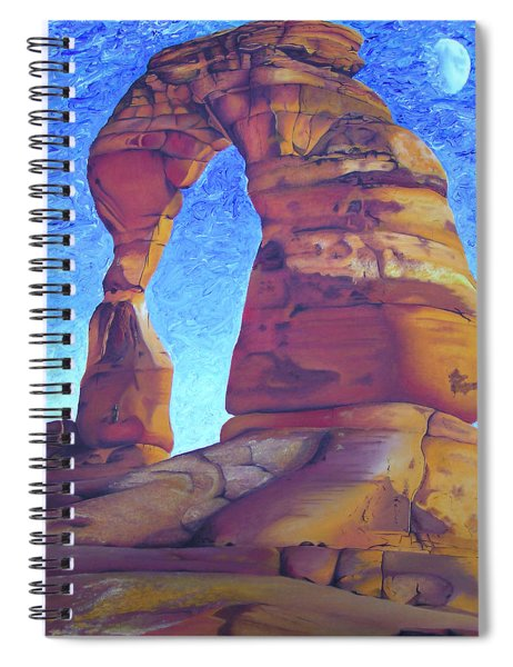 Place Of Power Spiral Notebook