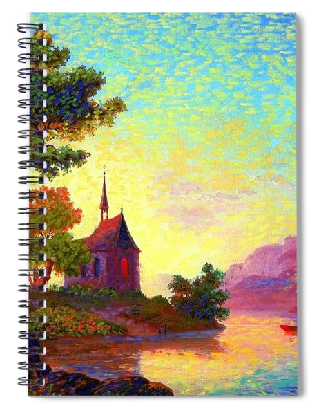 Beautiful Church, Place Of Welcome Spiral Notebook
