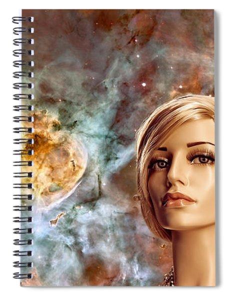Planetarium Spiral Notebook