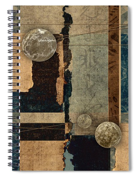 Planetary Shift #2 Spiral Notebook