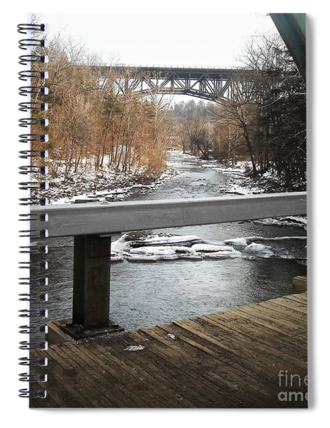Plank Bridge Catskill Ny Spiral Notebook