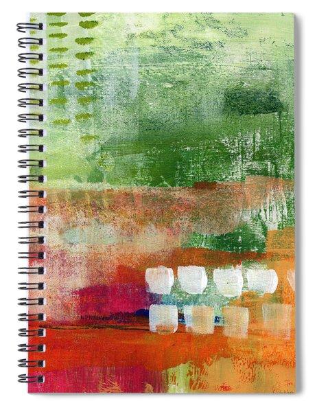 Plantation- Abstract Art Spiral Notebook