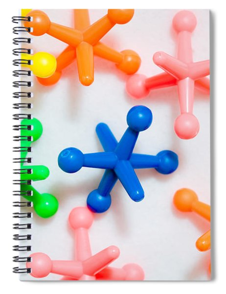 Plastic Toys Spiral Notebook