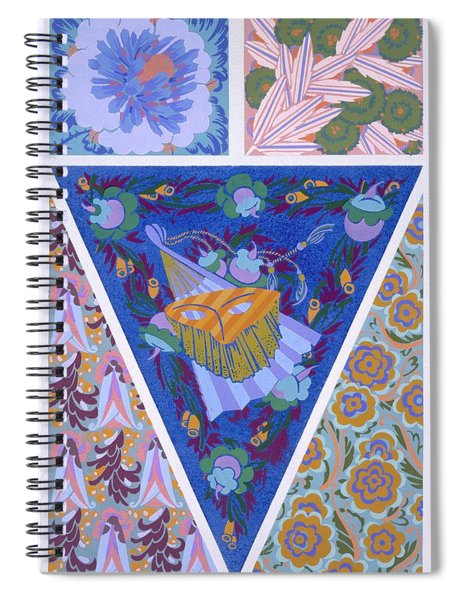 Plate 3, From Forms And Colours, C.1930 Spiral Notebook
