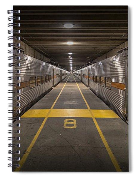 Platform Eight At Union Station Spiral Notebook