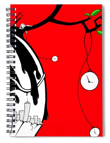 Playing With Time Spiral Notebook