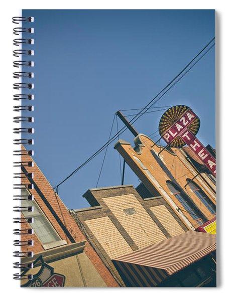 Plaza Theatre Spiral Notebook