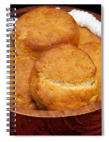 Please Pass The Biscuits Spiral Notebook