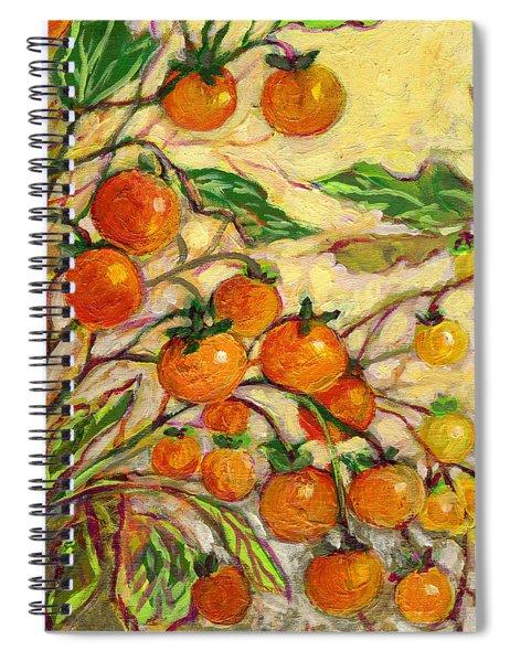 Plein Air Garden Series No 15 Spiral Notebook