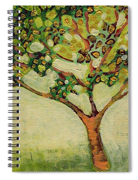 Plein Air Garden Series No 8 Spiral Notebook