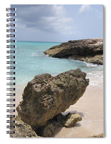 Plum Bay - St. Martin Spiral Notebook