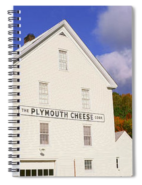 Plymouth Cheese Corporation In Autumn Spiral Notebook