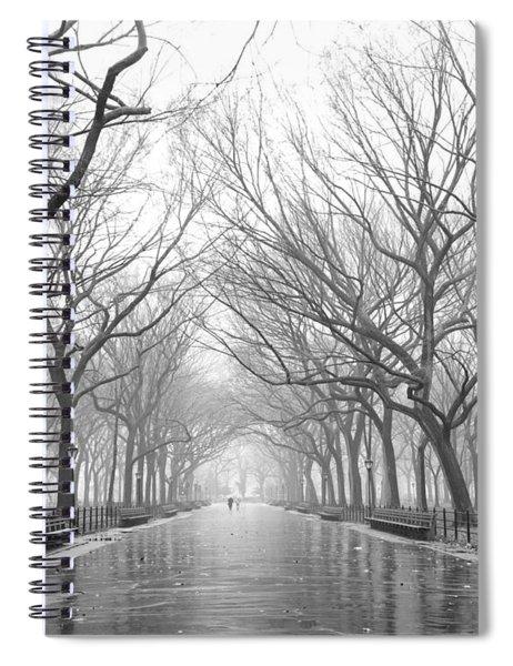 New York City - Poets Walk Central Park Spiral Notebook