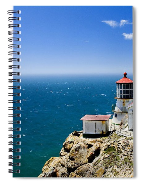 Point Reyes Lighthouse California Spiral Notebook