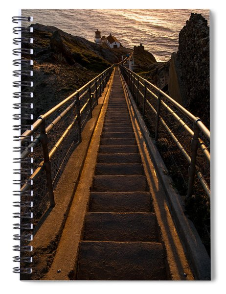 Point Reyes Lighthouse Staircase Spiral Notebook