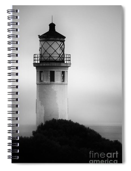 Pointe Vincente Lighthouse Spiral Notebook
