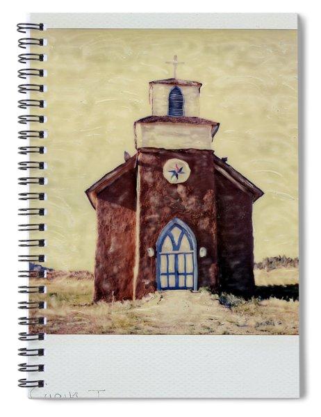 Polaroid Sx-70 Hand Manipulated 5 Spiral Notebook