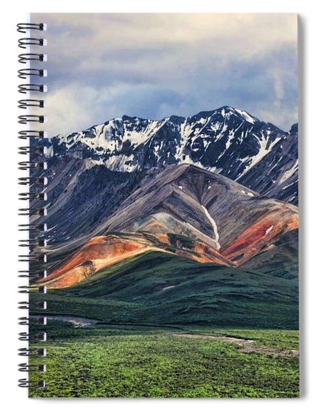 Polychrome Spiral Notebook