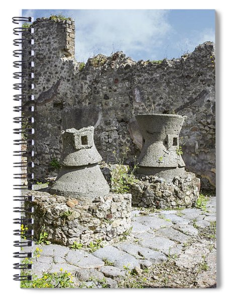 Pompei Bakery Spiral Notebook