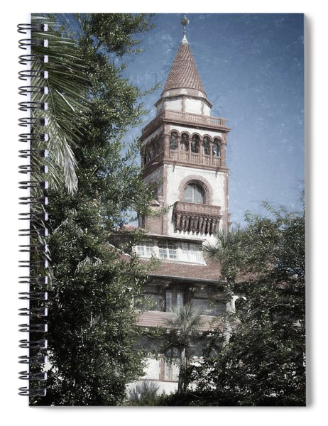 Ponce De Leon Hall Spiral Notebook
