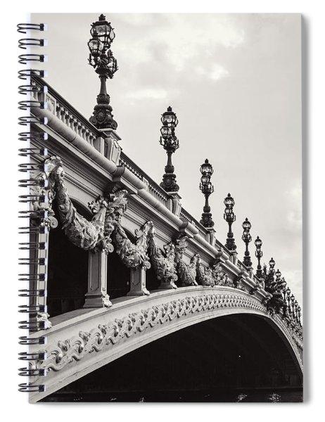 Pont Alexandre IIi Spiral Notebook