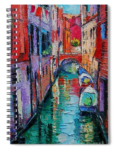 Ponte Raspi O Sansoni - Venice - Italy Spiral Notebook
