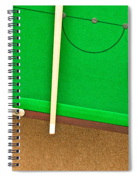 Pool Table Spiral Notebook by Tom Gowanlock