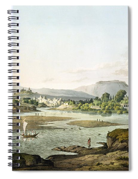 Poonah, Plate Xiii, Engraved By Daniel Spiral Notebook