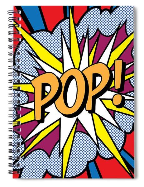 Pop Art Spiral Notebook
