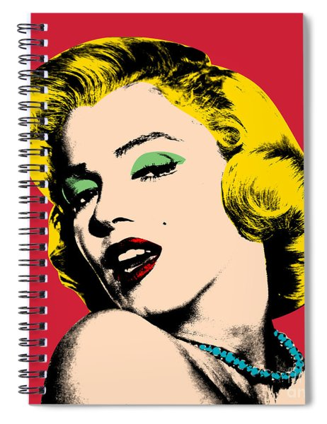 Pop Art Spiral Notebook