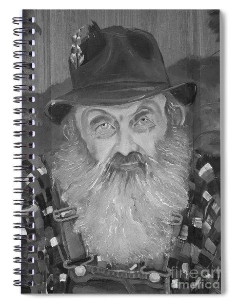 Popcorn Sutton - Jam - Moonshine Spiral Notebook