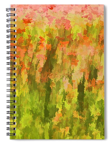 Poppies Of Tuscany IIi Spiral Notebook
