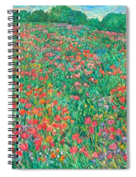 Poppy View Spiral Notebook
