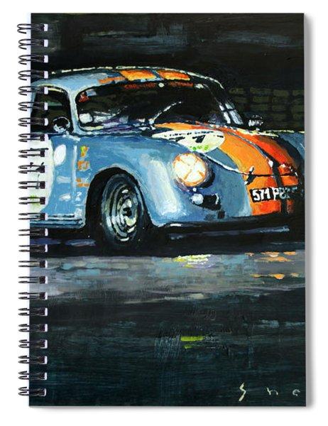 Porsche 356 A 1959 Le Mans Classic 2010 Spiral Notebook